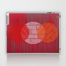THREE BRICKS ON SPLINTERED WOOD  Laptop & iPad Skin