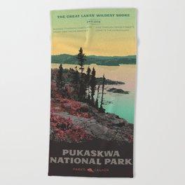 Pukaskwa National Park Beach Towel