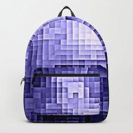 Nebula Pixels Periwinkle Lavender Backpack