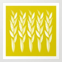 Eternity in Gold Leaf Art Print