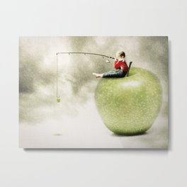 Apple dream Metal Print