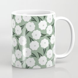 In the meadow   white and sage  Coffee Mug