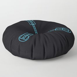 Flux Capacitor Floor Pillow