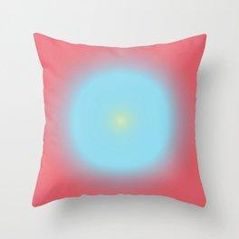 Gradient Cirkel V1 Throw Pillow