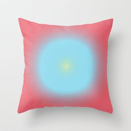 Gradient Cirkel V1 Throw Pillow