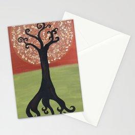 Dandelion Tree Print Stationery Cards