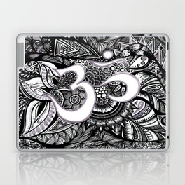 Zentangle Ohm Laptop & iPad Skin