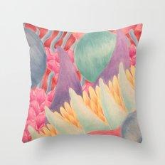 Venus in Fur Throw Pillow
