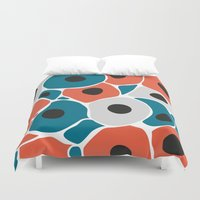spawn Duvet Covers featuring A new start in lives 2 by S.Y.Hong