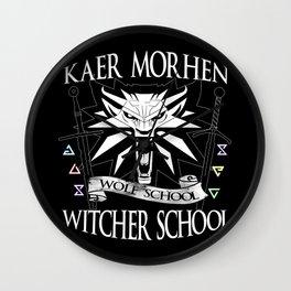 Kaer Morhen Witcher School Wall Clock