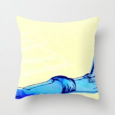 It feels so wrong--It feels so right Throw Pillow
