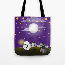 halloween hedgehogs party gang Tote Bag