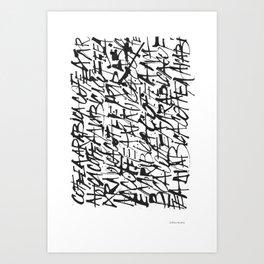 Coffea Arabica Art Print