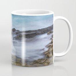 Misty Ocean Blur Coffee Mug