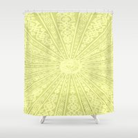 morocco Shower Curtains featuring Morocco by Crockettsky