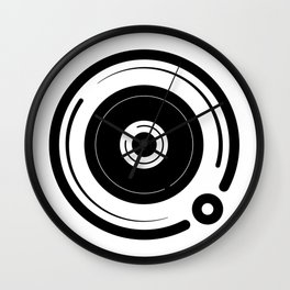 Space Boombox Wall Clock