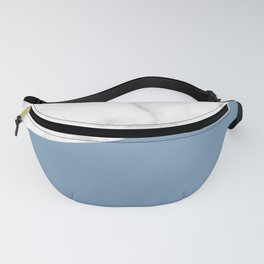 marble and ocean blue Fanny Pack