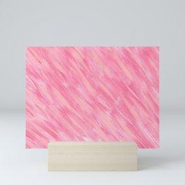 Pink Blush-Flamingo Pink Rose Blush Pink Art Mini Art Print