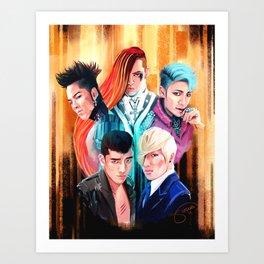 Fantastic Five Art Print