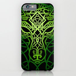 Celtic Wolf iPhone Case
