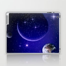 Fantastic yourney into space. Laptop & iPad Skin