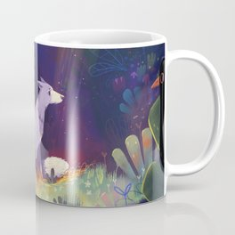 In the Forest Shadows Coffee Mug