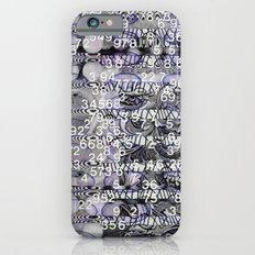 Post-Digital Tendencies Emerge (P/D3 Glitch Collage Studies) iPhone 6s Slim Case
