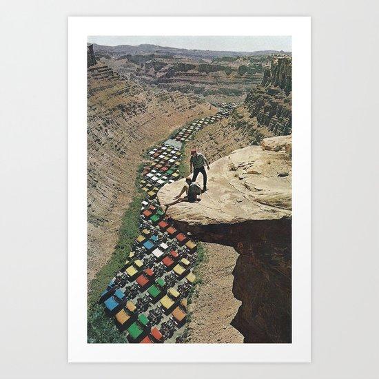 PackLikeSardines  Art Print