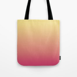 Summer Sunset Gradient Ombré Abstract Tote Bag