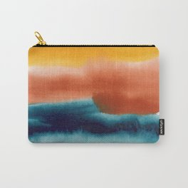 Rainbow Abstract #! Carry-All Pouch
