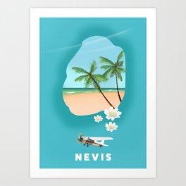 Nevis Art Print