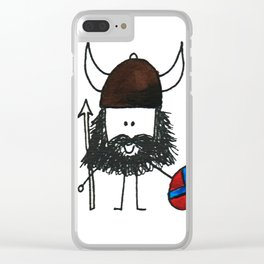 Norsk Viking Clear iPhone Case