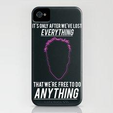 Fight Club Movie Quote iPhone (4, 4s) Slim Case