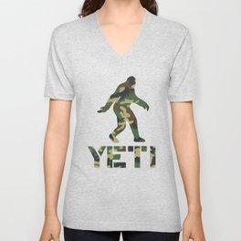 Yeti Woodland Camo Unisex V-Neck