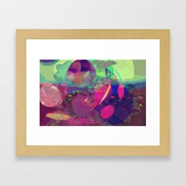 abstract 004. Framed Art Print