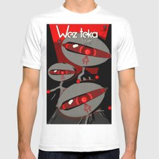 Always Watching - Wezteka Union Mens Fitted Tee White SMALL