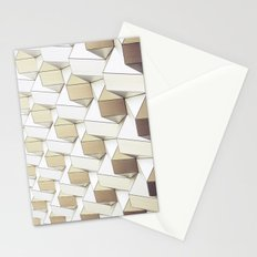 Golden Shapes - for iphone Stationery Cards