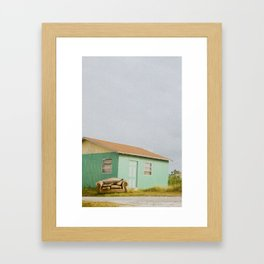 Nobody's Home. Framed Art Print