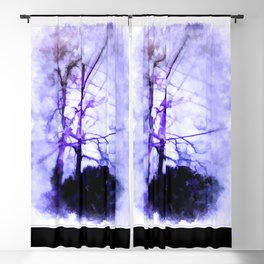 Nature And Mankind Blackout Curtain