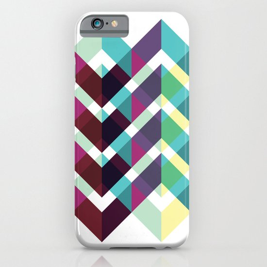 Zig Zag Pattern iPhone & iPod Case