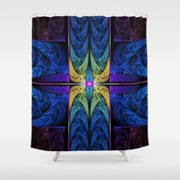 spiritual Shower Curtains featuring Spiritual One by Lyle Hatch