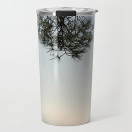 Pine tree trunk and branch Travel Mug