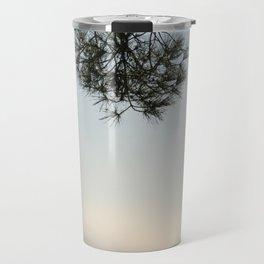 Pine tree trunk and branch Travel Mug