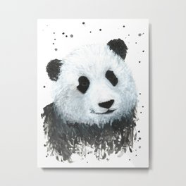 Percy the Panda Metal Print