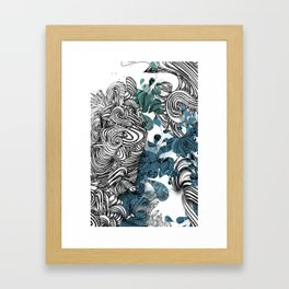 Floraldesign #001 Framed Art Print