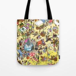 Diverse Market City Tote Bag