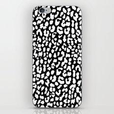 White Black Leopard iPhone & iPod Skin