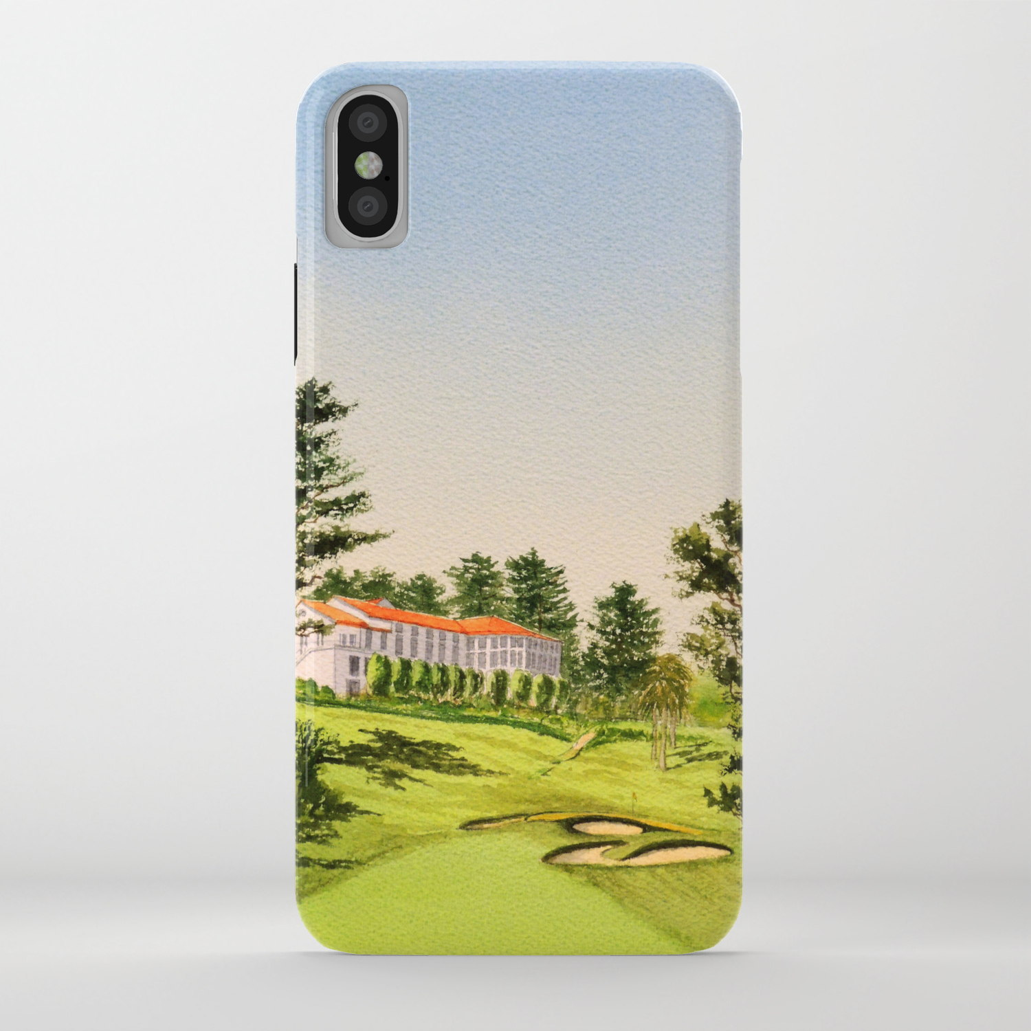 The Olympic Golf Course 18th Hole Iphone Case By Billholkham Society6
