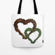 natural hearts Tote Bag
