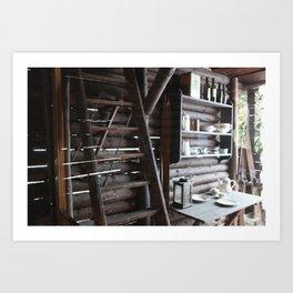 the土热  Art Print